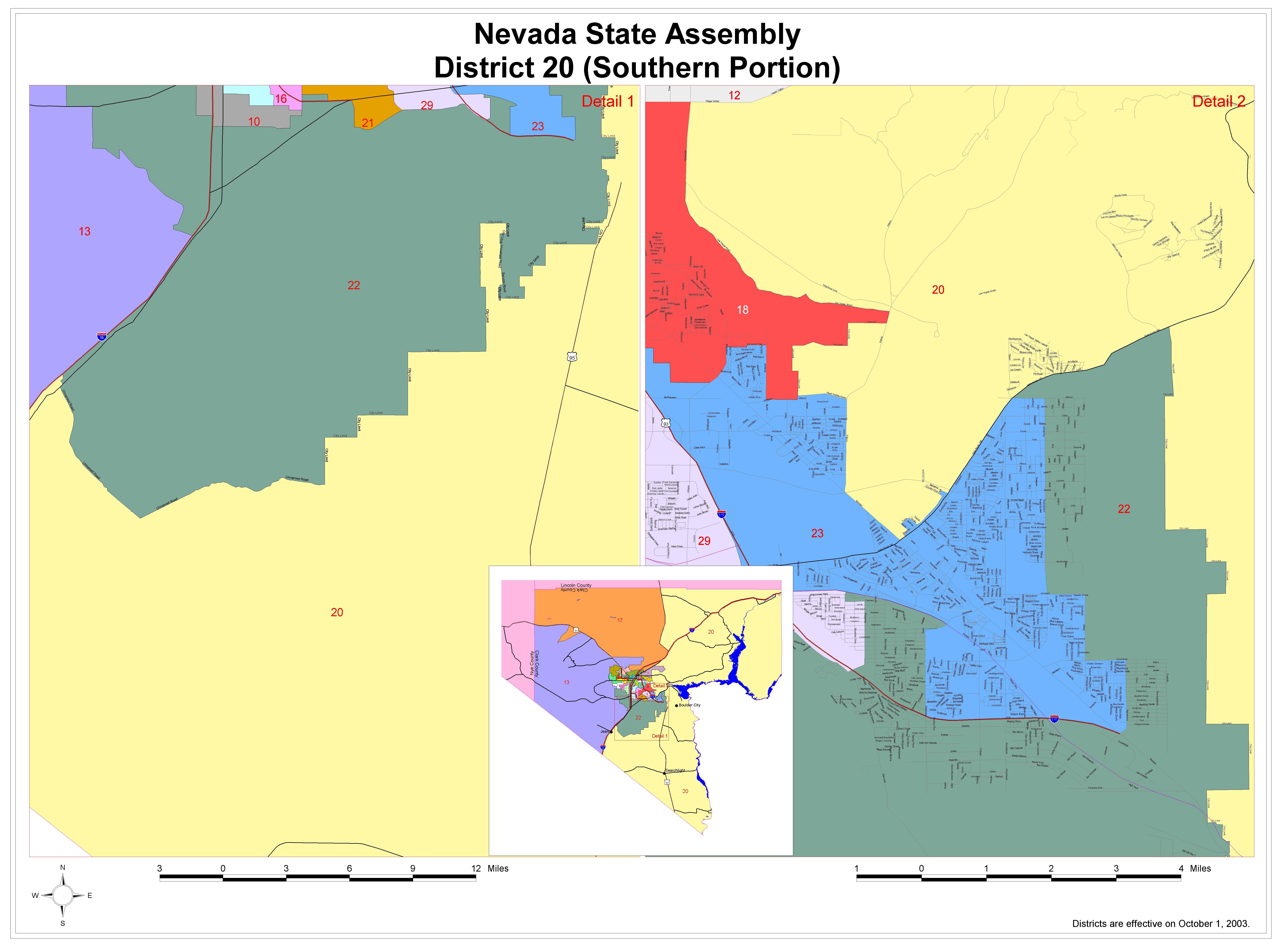 Legislative District Maps