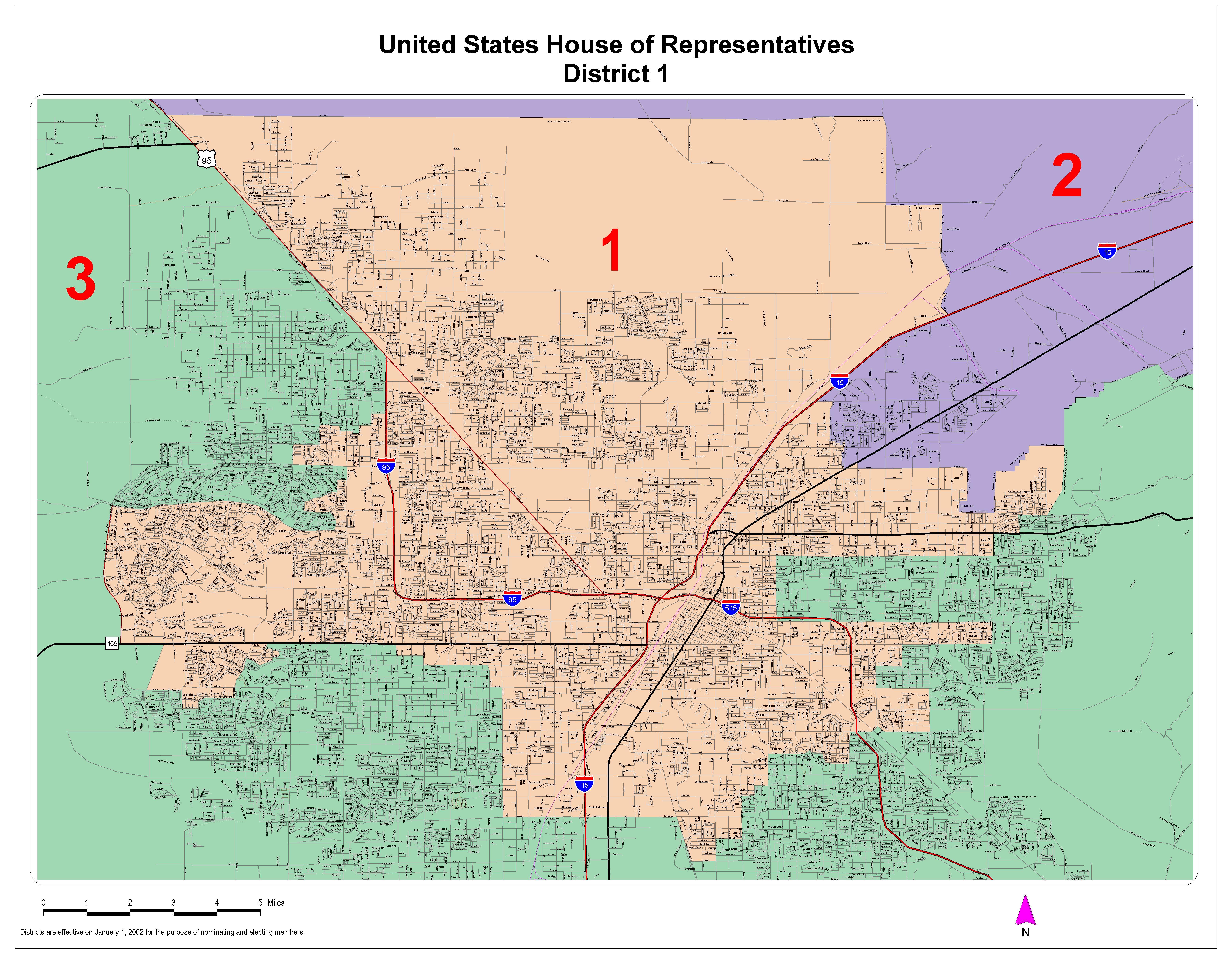 Nevada Law Library >> Legislative District Maps