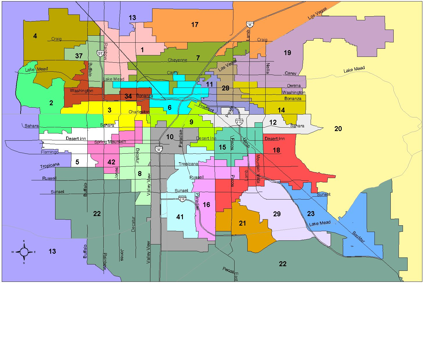 Legislative District Maps